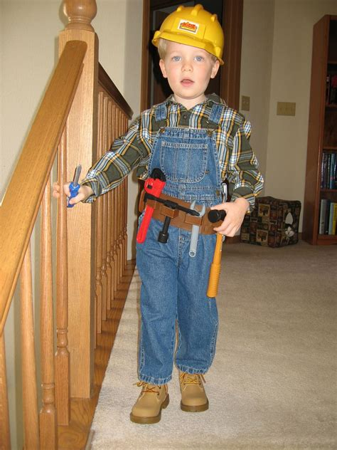 Diy Construction Worker Costume