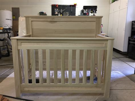 Diy Convertible Baby Crib Plans