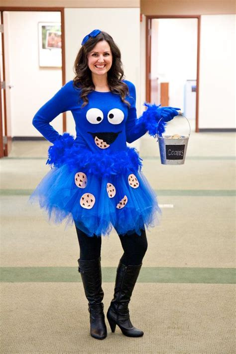 Diy Cookie Monster Costume For Women