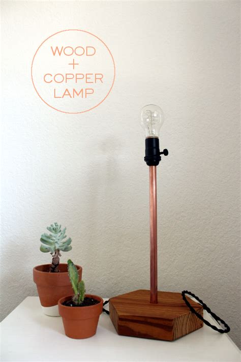 Diy Copper Table Lamp