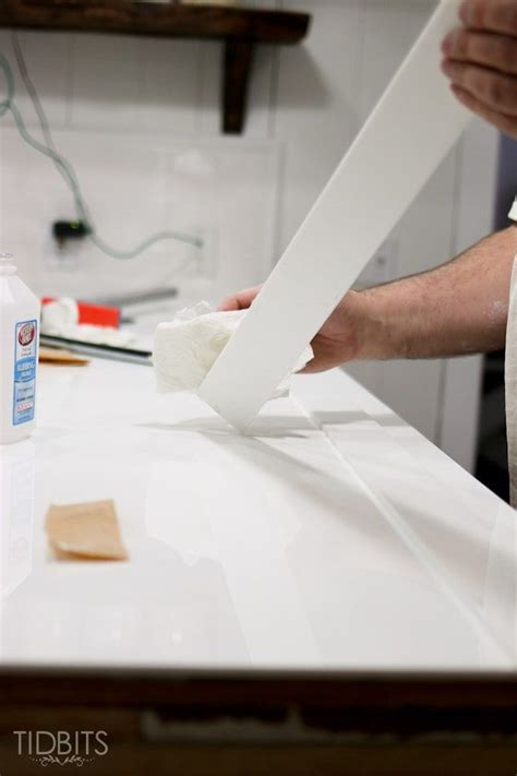 Diy Corian Countertop Installation