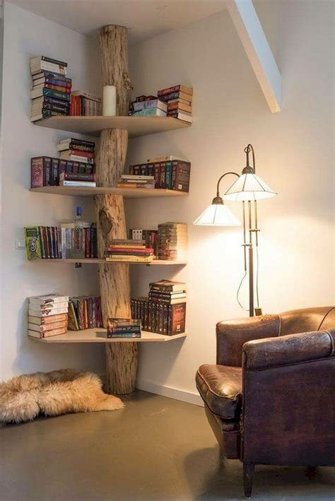 Diy Corner Shelves For Bedroom