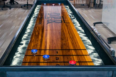 Diy Corner Shuffleboard Table