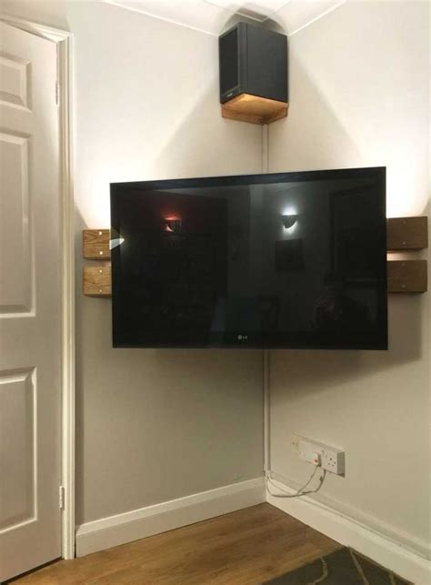 Diy Corner Tv Stand Instructions For Lg