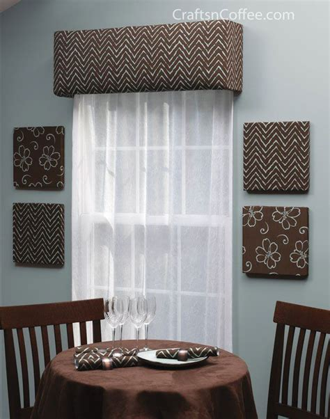 Diy Cornice Window Treatments