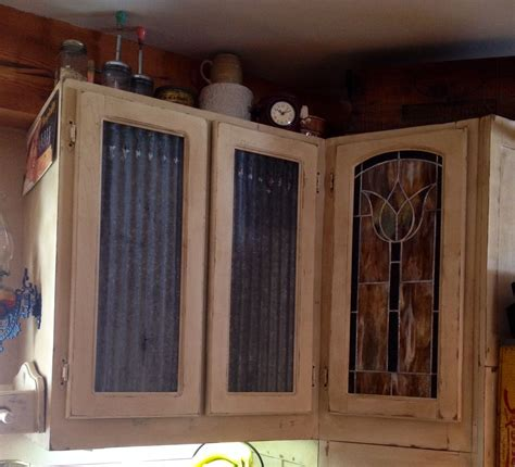 Diy Corrugated Cabinet Doors