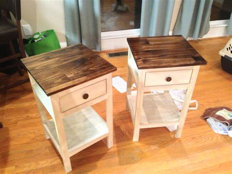 Diy Cottage Bedside Table