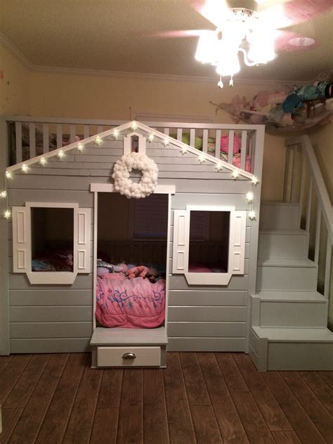 Diy Cottage Loft Bed