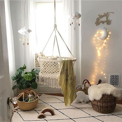 Diy Cotton Hanging Baby Bed