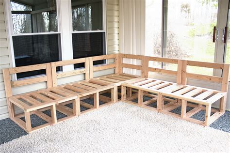 Diy Couch Frame Plans