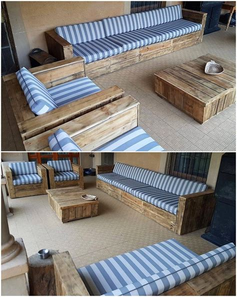 Diy Couch From Pallet Wood