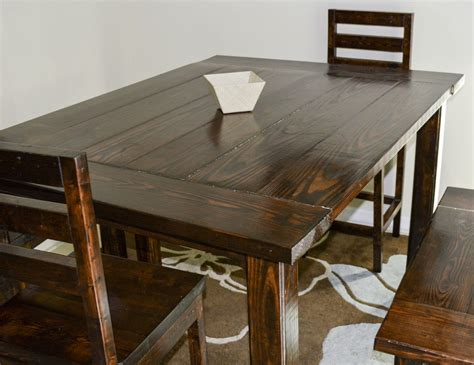 Diy Counter Height Dining Table