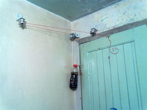Diy Counterweight Gate Closer