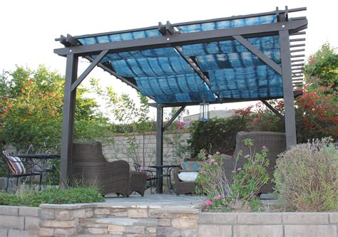 Diy Cover Pergola Fabric