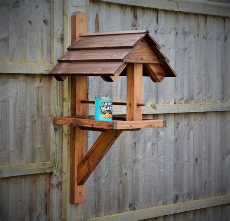 Diy Covered Bird Table