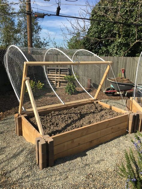 Diy Covered Garden Bed