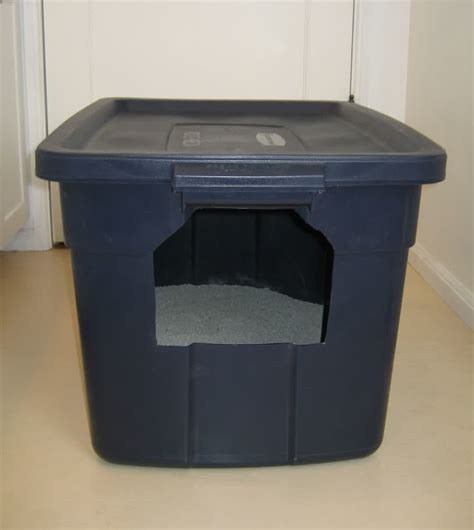 Diy Covered Litter Box