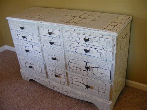 Diy Crackle Paint Furniture