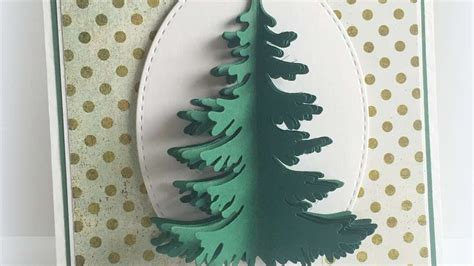 Diy Craft Cards Christmas Trees