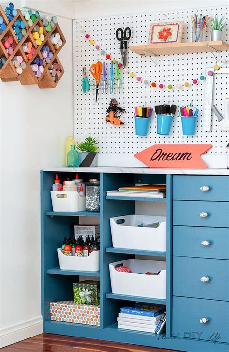 Diy Craft Closet Storage Ideas