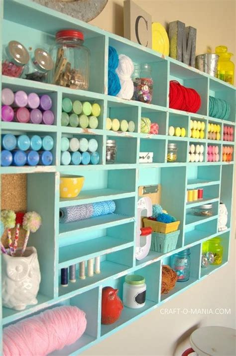 Diy Craft Room Storage Pinterest
