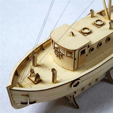 Diy Crafts Wood Model Kit Sailboat