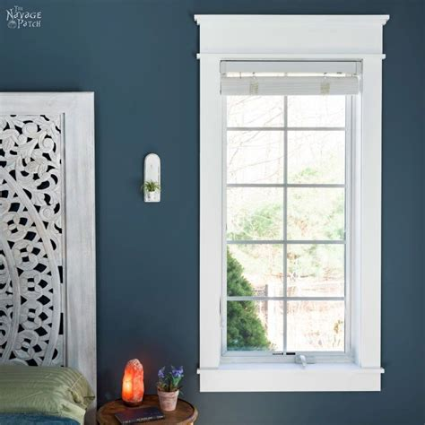 Diy Craftsman Door Window Trim