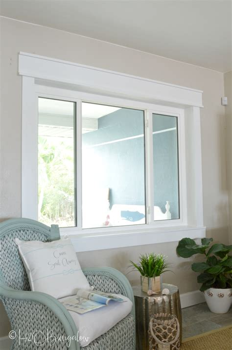 Diy Craftsman Window Molding