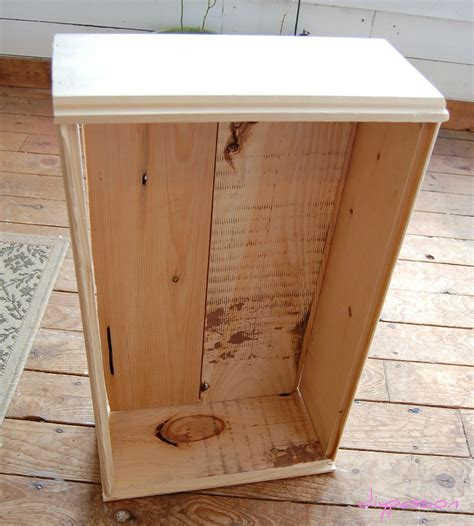 Diy Crate Bed Frame With Storage Space Under It