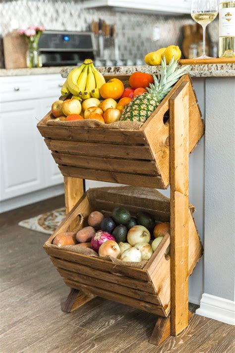 Diy Crate Produce Stand Supplies