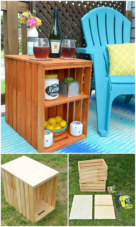Diy Crate Projects Out Door