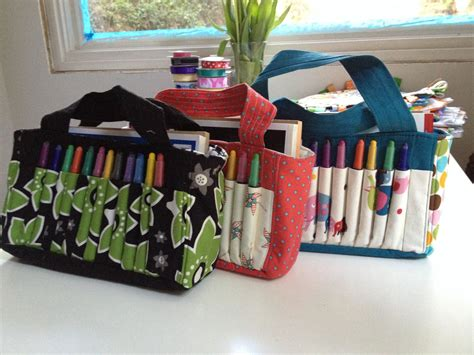 Diy Crayon Bag