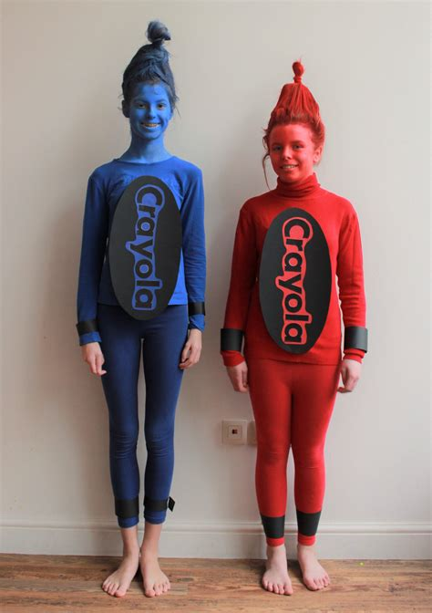 Diy Crayon Costume Ideas