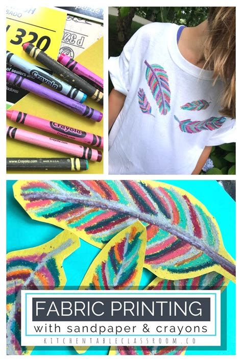 Diy Crayon Transfer T Shirt