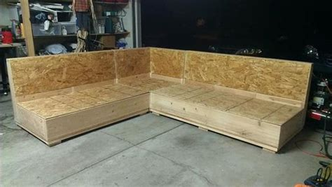 Diy Creative Plywood Sectional Sofa