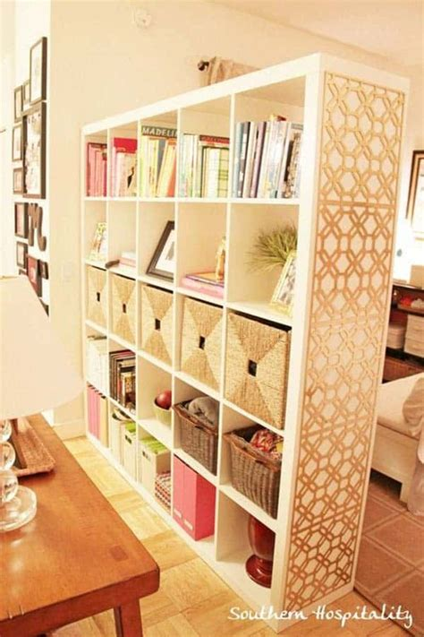 Diy Creative Room Dividers Storage Containers