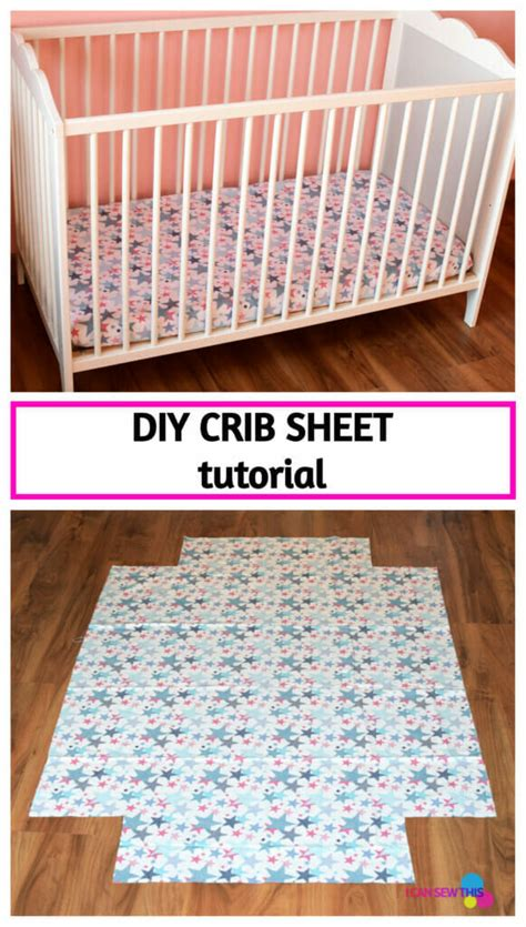 Diy Crib Sheet Tutorial