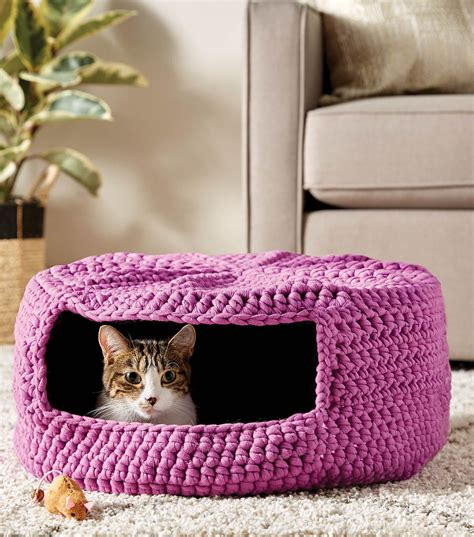Diy Crochet Pet Bed