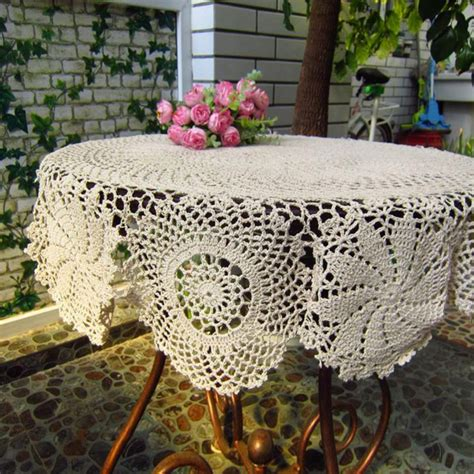 Diy Crochet Table Cover