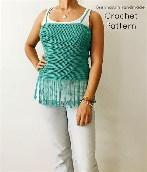 Diy Crochet Tank Top Patterns