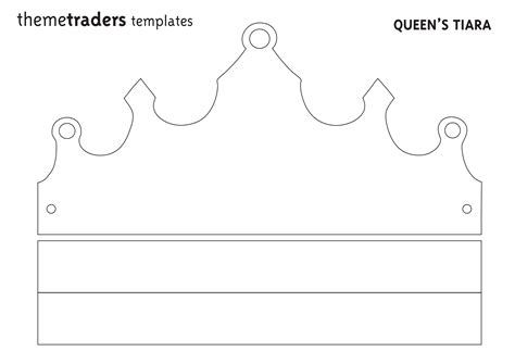 Diy Crown Template