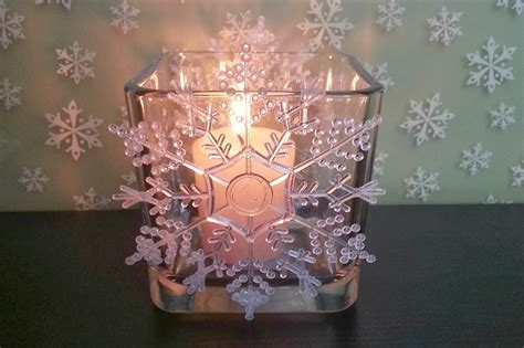 Diy Crystal Candle Holder Instructions