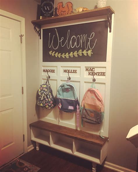 Diy Cubbies For Mudroom