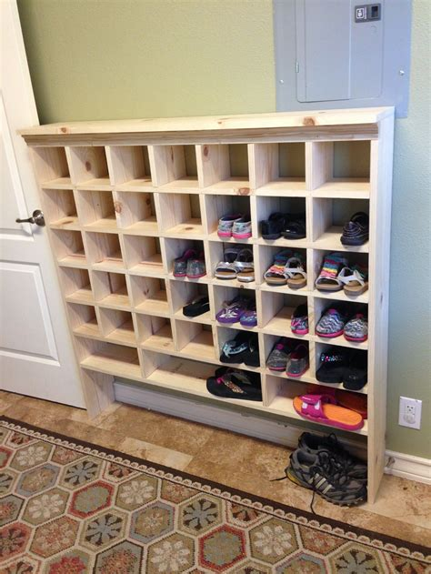 Diy Cubby Shoe Rack