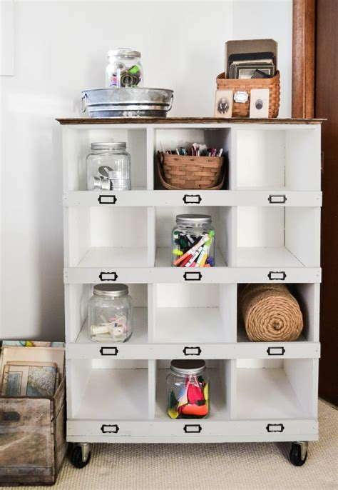 Diy Cubby Storage With Hook
