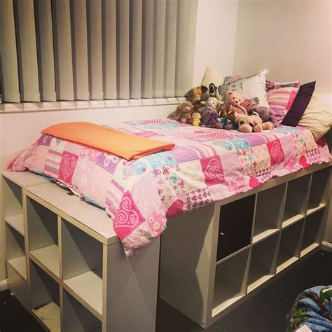 Diy Cube Storage Bed For Kids