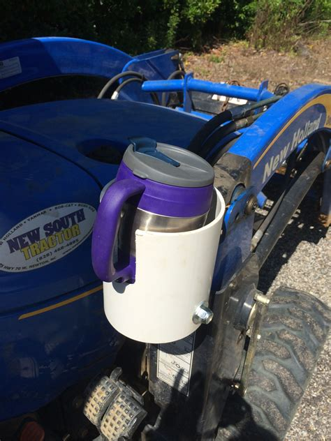 Diy Cup Holder For Riding Lawn Tractor
