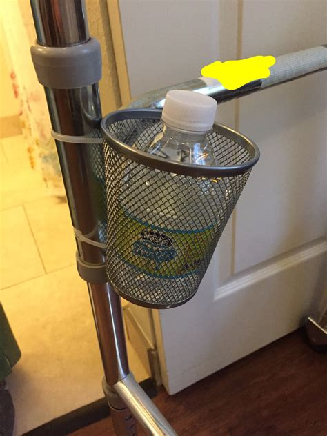 Diy Cup Holder For Walker
