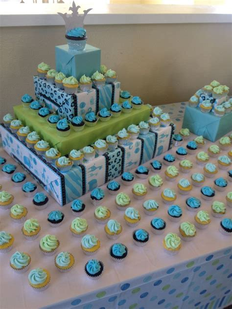 Diy Cupcake Displays Baby Shower