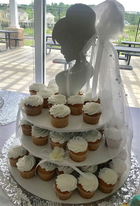 Diy Cupcake Stand For Wedding Shower